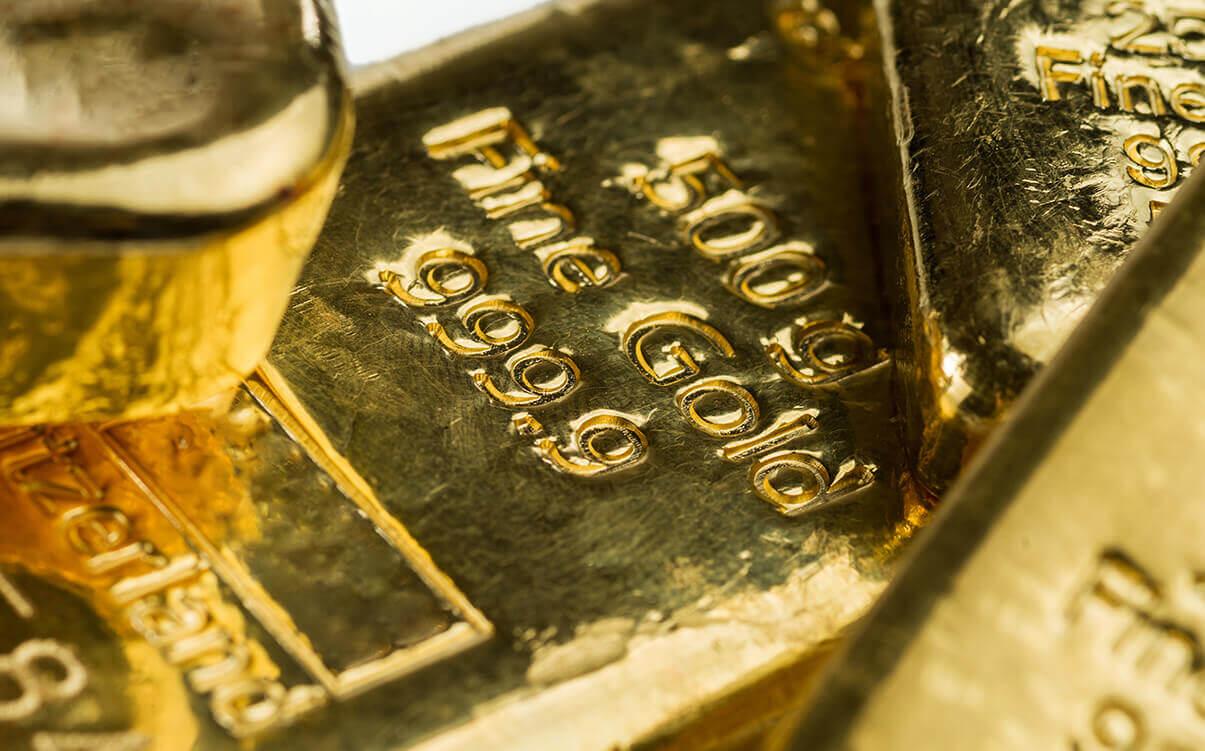 Image of Swiss gold bars